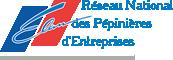 Logo réseau national des pépinières d'entreprises