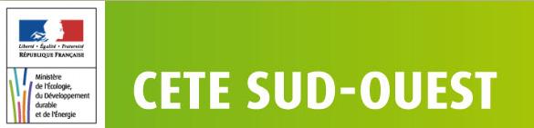 Logo du CETE du Sud-ouest