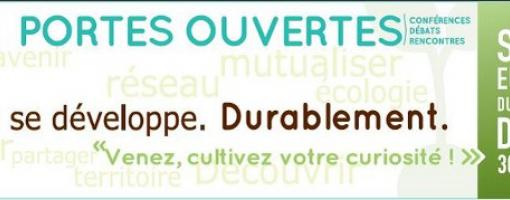 banderole de la semaine européenne du développement durable
