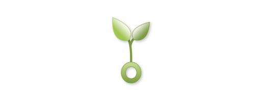 Logo pousse végétale de l'écopôle