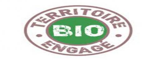 image représentant le logo de territoire bio engagé