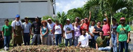 Image représentant un groupe de paysans vénézuéliens