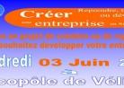 affiche Forum des créateurs et repreneurs d'entreprises